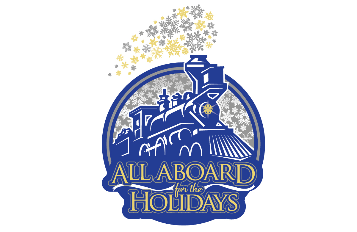 All Aboard for the Holidays Logo