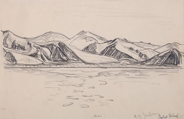 Page from a Sketchbook: Bylot Island, Nunavut